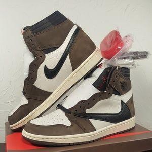 Air Jordan 1 Retro High Og Travis Scott Size 8.5